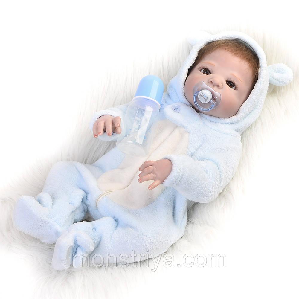 Кукла-реборн Малыш полностью силиконовый