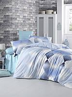 Комплект постельного белья LIGHT HOUSE бязь голд PETEK голубой 200х220