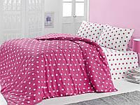 Комплект постельного белья LIGHT HOUSE бязь голд ROUND розовый 160х220