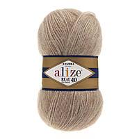 Alize Angora real 40 - 152 беж меланж