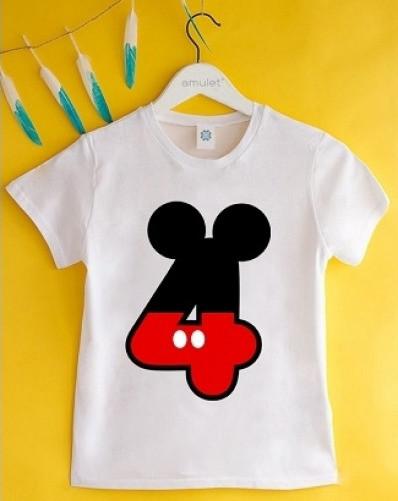 Летняя детская футболка (FD-032)