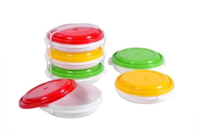 Купить комплект судков для пищевых продуктов 3шт.x0.5л.