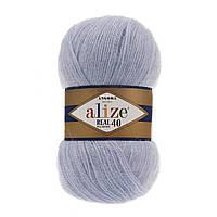 Alize Angora real 40 - 51 светло-голубой