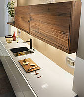 Кухни с древесными текстурами , фото 1