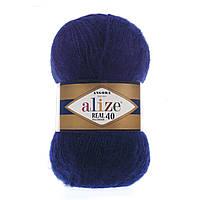 Alize Angora real 40 - 58 темно-синий