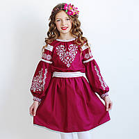 """Вишите плаття для дівчинки """"Сердечко моє"""", фото 1"""