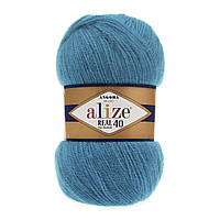 Alize Angora real 40 - 16 ярко-бирюзовый