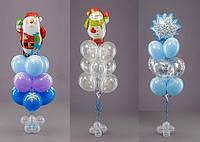 Новогодние воздушные (гелиевые) шарики в Днепре, фото 1