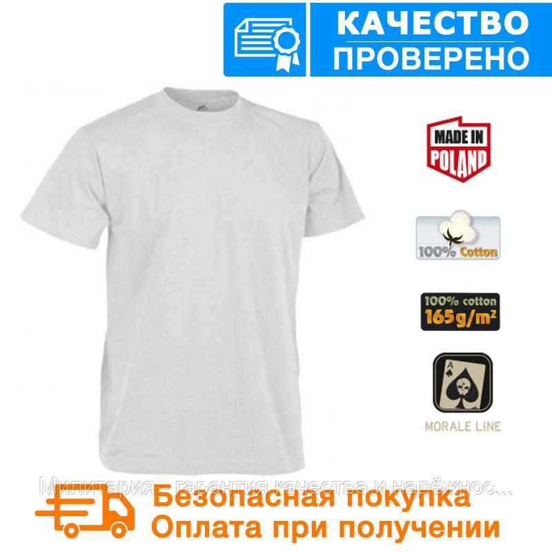 Мужская тактическая футболка T-shirt Helikon White ХХL (TS-TSH-CO-20)