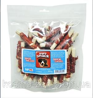 Ухо кролика сушеное в мясе курицы Happ snack, 500 гр