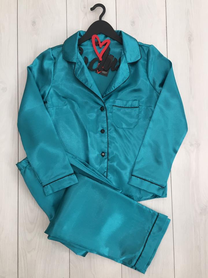 Женская домашняя одежда ТМExclusive: атласный комплект рубашка + штаны
