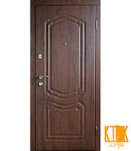 """Вулична двері серії Комфорт """"Класик"""" (золотий дуб)"""