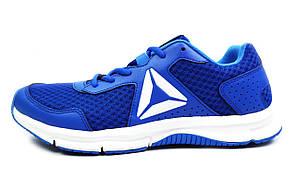 Синие мужские кроссовки для бега спорта REEBOK EXPRESS RUNNER MEN ( ОРИГИНАЛ )