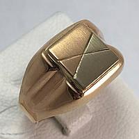Печатка мужская золотая 585 проба, 22,5 размер