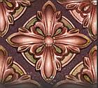 Гипсовый декор, орнамент, одноцветный, 8,5 х 8,5 см., фото 2