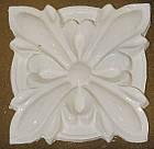 Гипсовый декор, орнамент, одноцветный, 8,5 х 8,5 см., фото 3