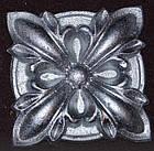 Гипсовый декор, орнамент, одноцветный, 8,5 х 8,5 см., фото 4
