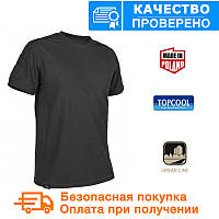 Тактическая футболка Tactical T-shirt Helikon TopCool Black (TS-TTS-TC-01), фото 1