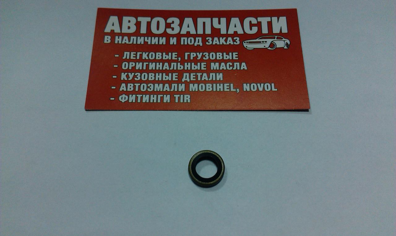 Шайба металлическая с уплотнением Д=8