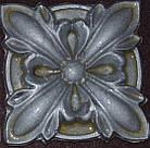 Гипсовый декор, орнамент, одноцветный, 8,5 х 8,5 см., фото 5