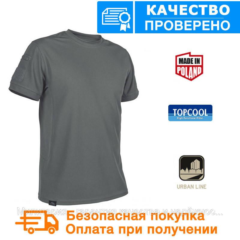 Тактическая футболка Tactical T-shirt Helikon TopCool Shadow Grey (TS-TTS-TC-35), фото 1
