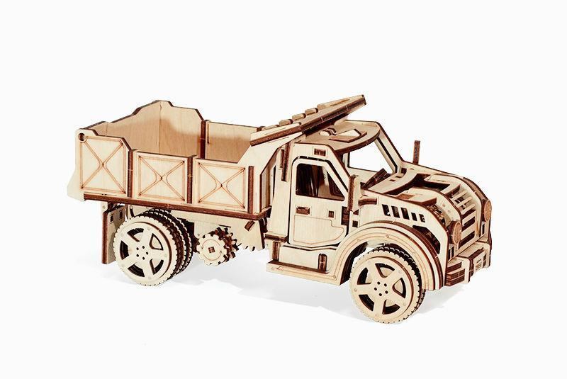 Wood Trick Механический 3D пазл Грузовик (215 деталей)