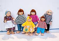 Іграшкова сім'я з 6-ти чоловік, фото 1