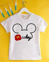 """Детская качественная футболка """"Дисней"""" (FD-023)"""