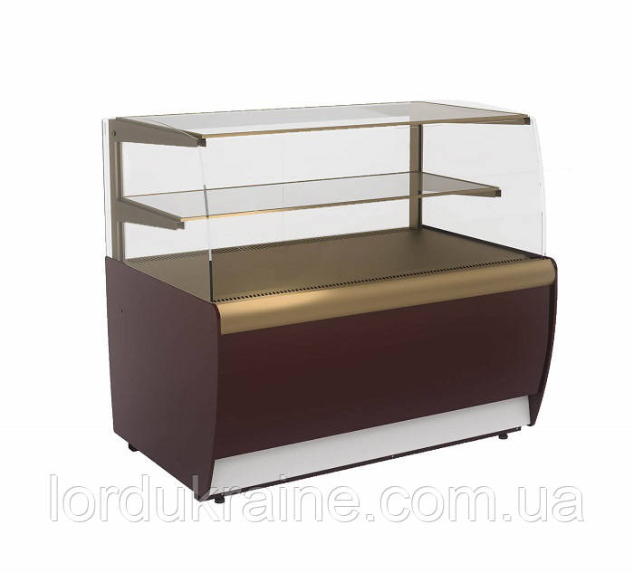 Кондитерская холодильная витрина ВХСв - 1,3д Carboma MINI (ТЕХНО)