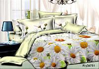 Двуспальный  постельный комплект белья из ранфорса