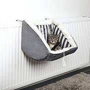 """Trixie TX-45615 подвесное мягкое место """"Cat Prince"""" 38х30х38см,серый"""