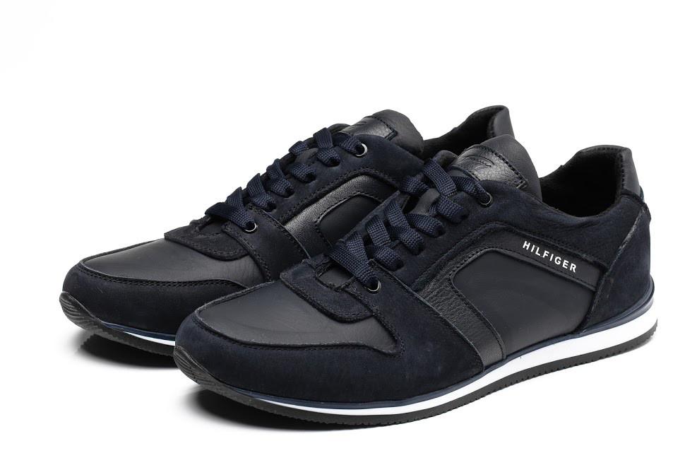 Мужские кожаные кроссовки Tommy Hilfiger (Хилфигер) в наличии fb37fab5db944