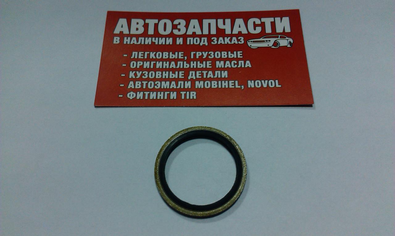 Шайба металлическая с уплотнением Д=27
