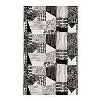 """IKEA """"ИНГВИЛ"""" Ткань, белый, черный, 150 см"""