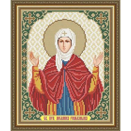 """Рисунок на ткани для вышивания бисером """"Святая Преподобная Мелания Римляныня"""", фото 2"""