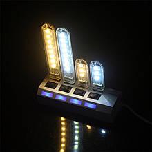 USB лампа 3 led 5v брелок