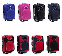 Дорожный чемодан на колесах SUITCASE 801 с кодовым замком Тканевый Небольшой