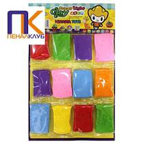 Маса для ліплення Super light clay 7 кольорів 12 штук 9 грамів Claydoll NT-K02(9)