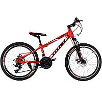 """Детский велосипед Titan Forest 24"""" красный"""