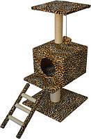 Когтеточка,дряпка Лори  Цезарь  дом-драпак для кота  82*44*44см (сезаль), фото 2