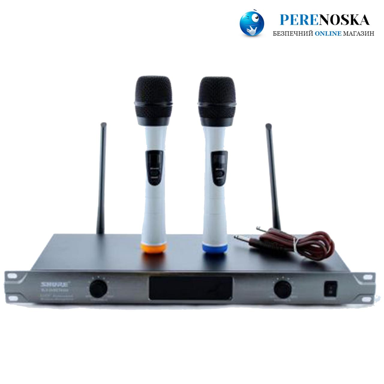 Радиосистема SHURE DM BLX 58/ + 2 беспроводный микрофона