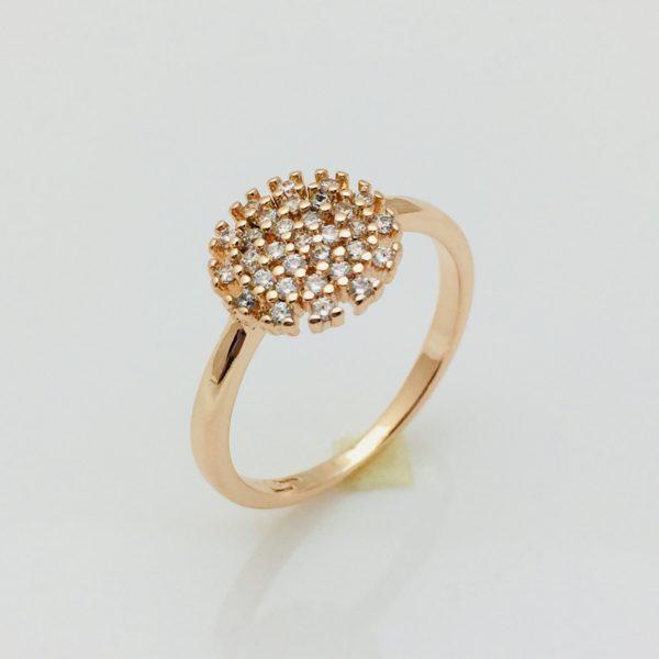 Кольцо Солнышко, размер 17, 18, 19 ювелирная бижутерия