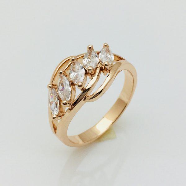 Кольцо Файо, размер 17, 18 ювелирная бижутерия