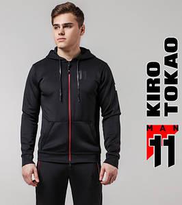 Kiro Tokao 420 | Спортивная толстовка для мужчин черный-красный