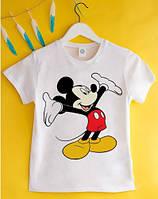 """Детская футболка """"Микки Маус"""" (DF-03-17)"""