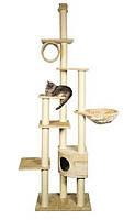 Когтеточка,дряпка Trixie TX-43901 Madrid домик для кота от пола до потолка, фото 2