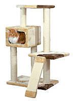 Trixie ТX-43601 Игровая площадка с дряпкой и домиком для кошки «Almeria»