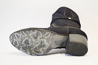 Ботинки синие нубук Karganowski 0046, фото 3