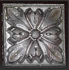 Гипсовый декор, орнамент, одноцветный, 6,2 х 6,2 см., фото 2