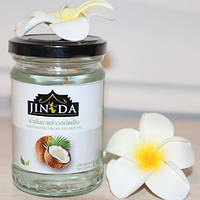 Натуральное тайское кокосовое масло первого отжима Jinda, 195мл